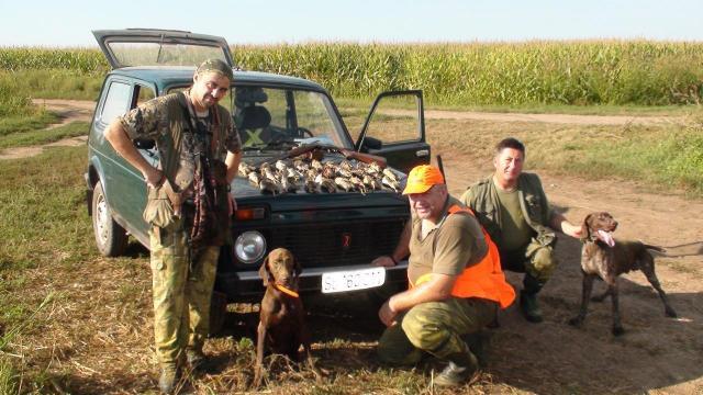 Охота в Сербии