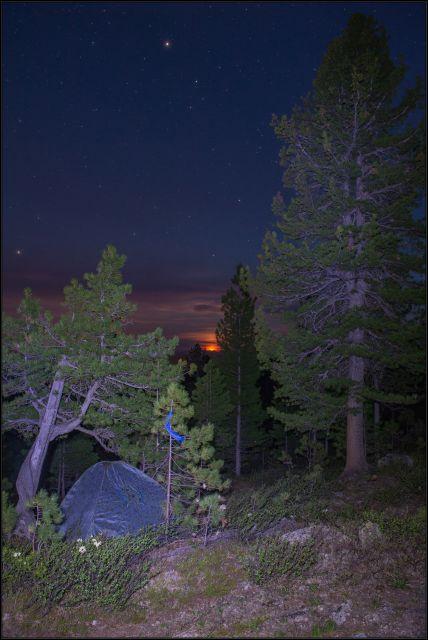 Ночь в Ергаках