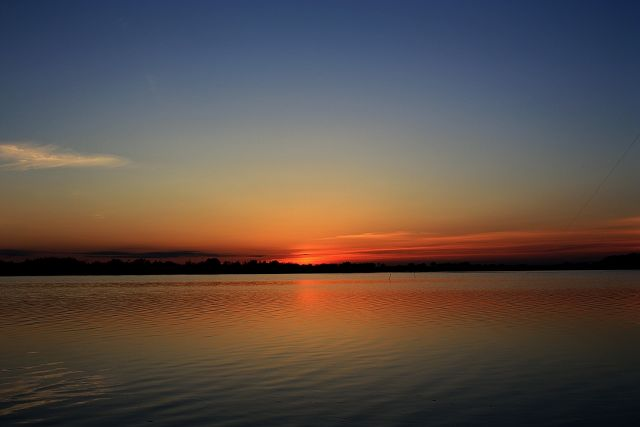 Закат на Тунгуске