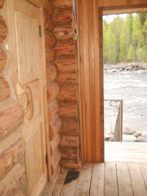 выход в реку