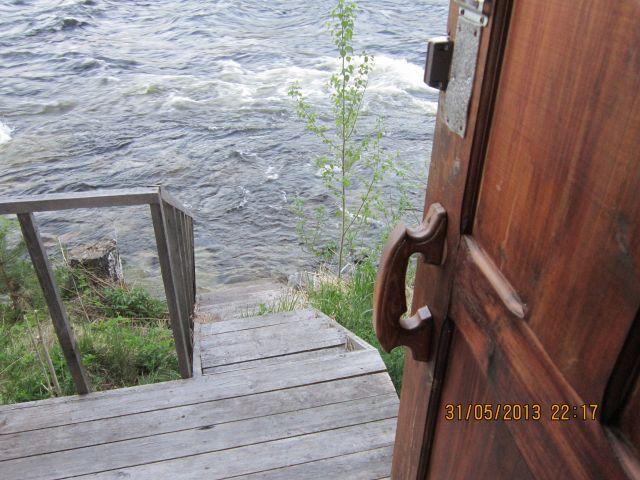 сходни в реку