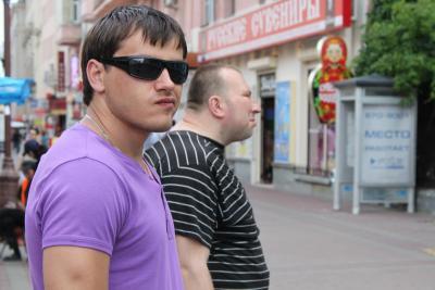 Прикрепленное изображение: Колоритный мужик....Я не мог с ним рядом рядом не встать)).JPG
