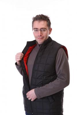 Прикрепленное изображение: Стеганный жилет с оленьей шерстью.JPG
