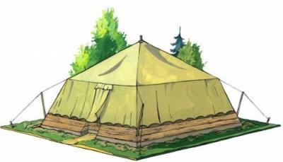 Прикрепленное изображение: палатка лагерная солдатская.jpg