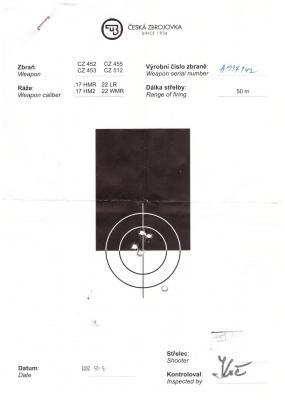 Прикрепленное изображение: CZ 452 - отстреляная мишень при покупке1.jpg