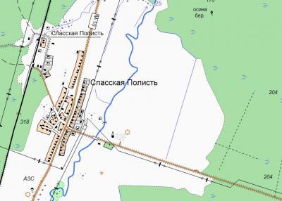 Прикрепленное изображение: Спасская Полист - Топокарта 250м.jpg